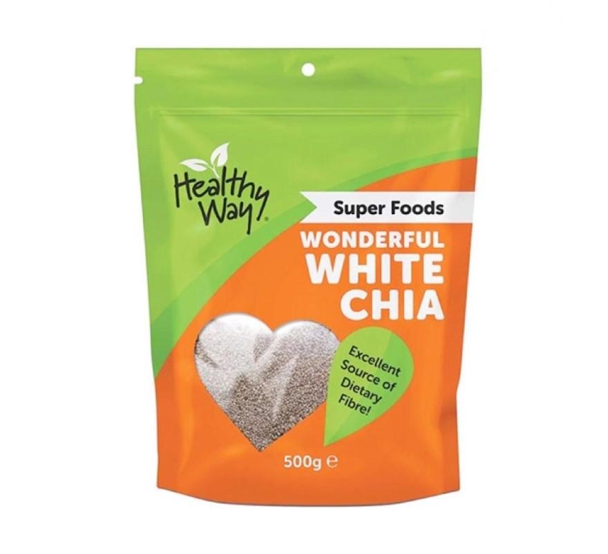 Hạt chia trắng - thực phẩm hỗ trợ sức khỏe