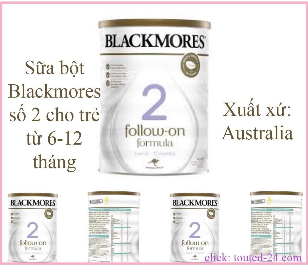 Sữa bột số 2 Blackmores 900g cho bé 6 - 12 tháng tuổi