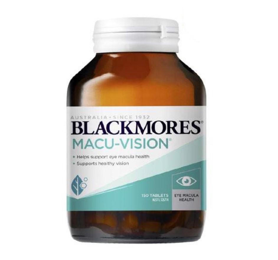 Thuốc bổ mắt Blackmores Macu Vision 150 Tablets