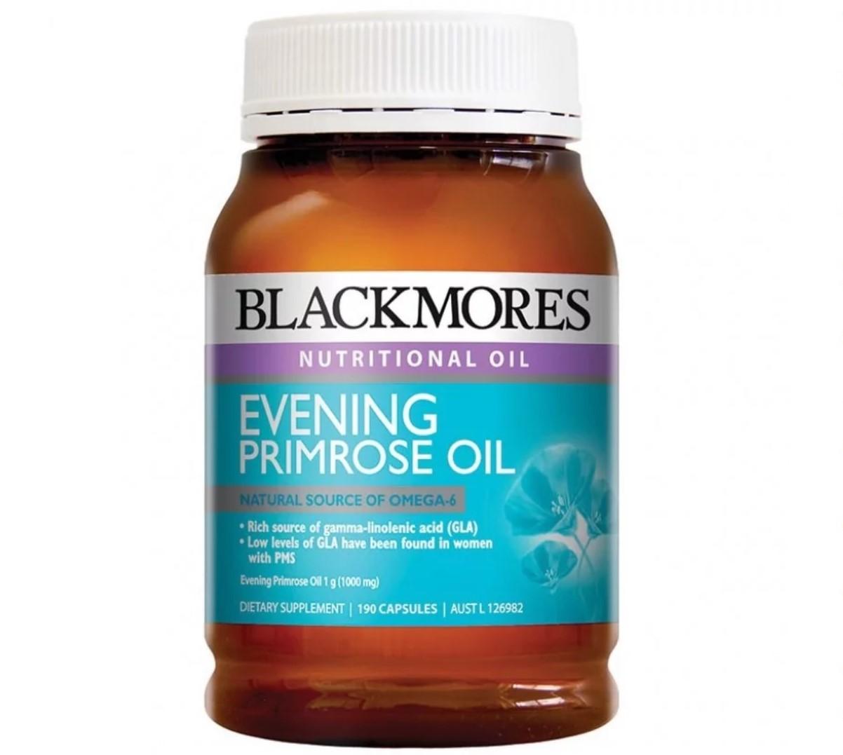 Viên uống tinh dầu hoa anh thảo Blackmores Evening Primrose Oil 190 capsules