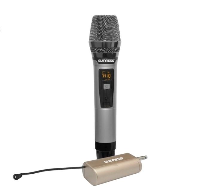 Micro Karaoke Guinness M-810S không dây cự ly 10 - 15 mét