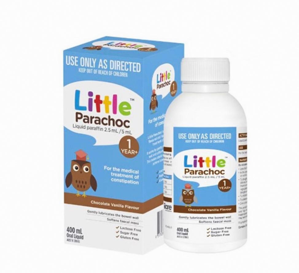 Siro đặc trị táo bón trẻ em Parachoc Liquid Paraffin 400mL
