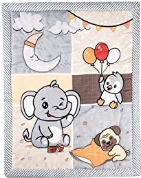 Bộ chăn ga giường trẻ sơ sinh Blue Infinity cho bé trai và bé gái